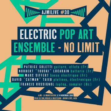 NO LIMIT – nouvel album d'Electric Pop Art Ensemble